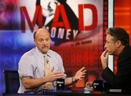 Jon Stewart Kicking Jim Cramer's Ass