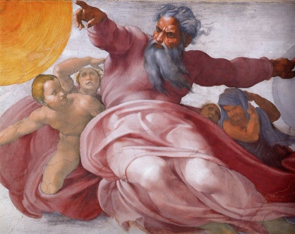 Sistine-Chapel-detail-Creation-of-sun-moon-planets-Michelangelo
