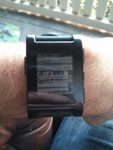 pebble watch malfunction